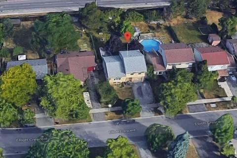 House for sale at 606 Elliott Cres Milton Ontario - MLS: W4394676