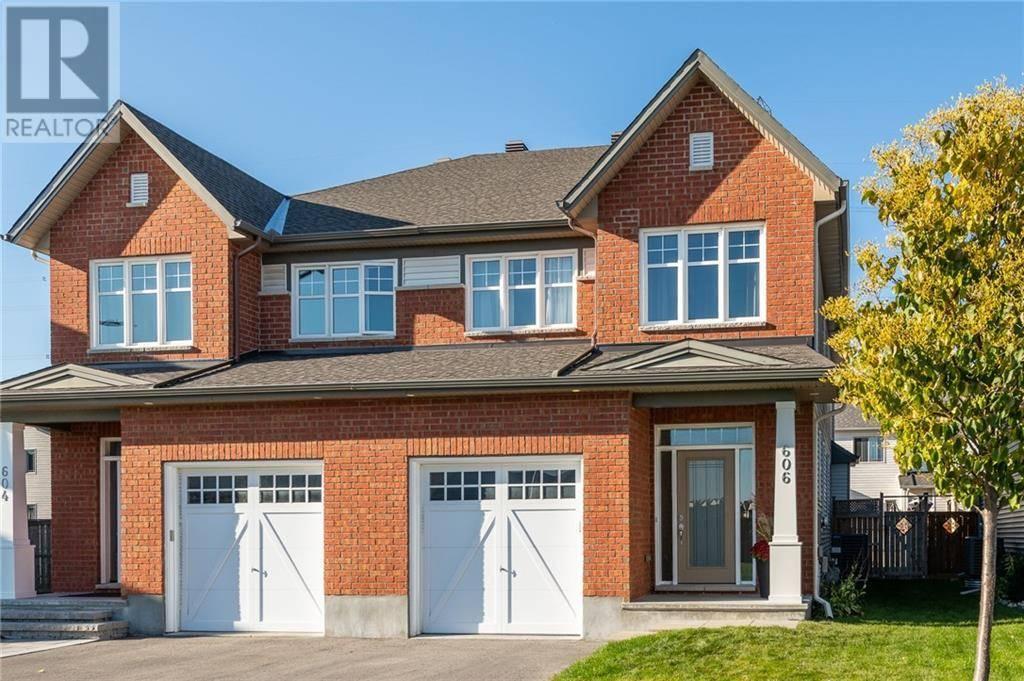 House for sale at 606 Moorpark Ave Kanata Ontario - MLS: 1172128