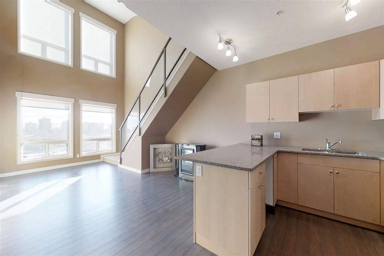 Condo for sale at 11425 105 Ave Nw Unit 607 Edmonton Alberta - MLS: E4171740