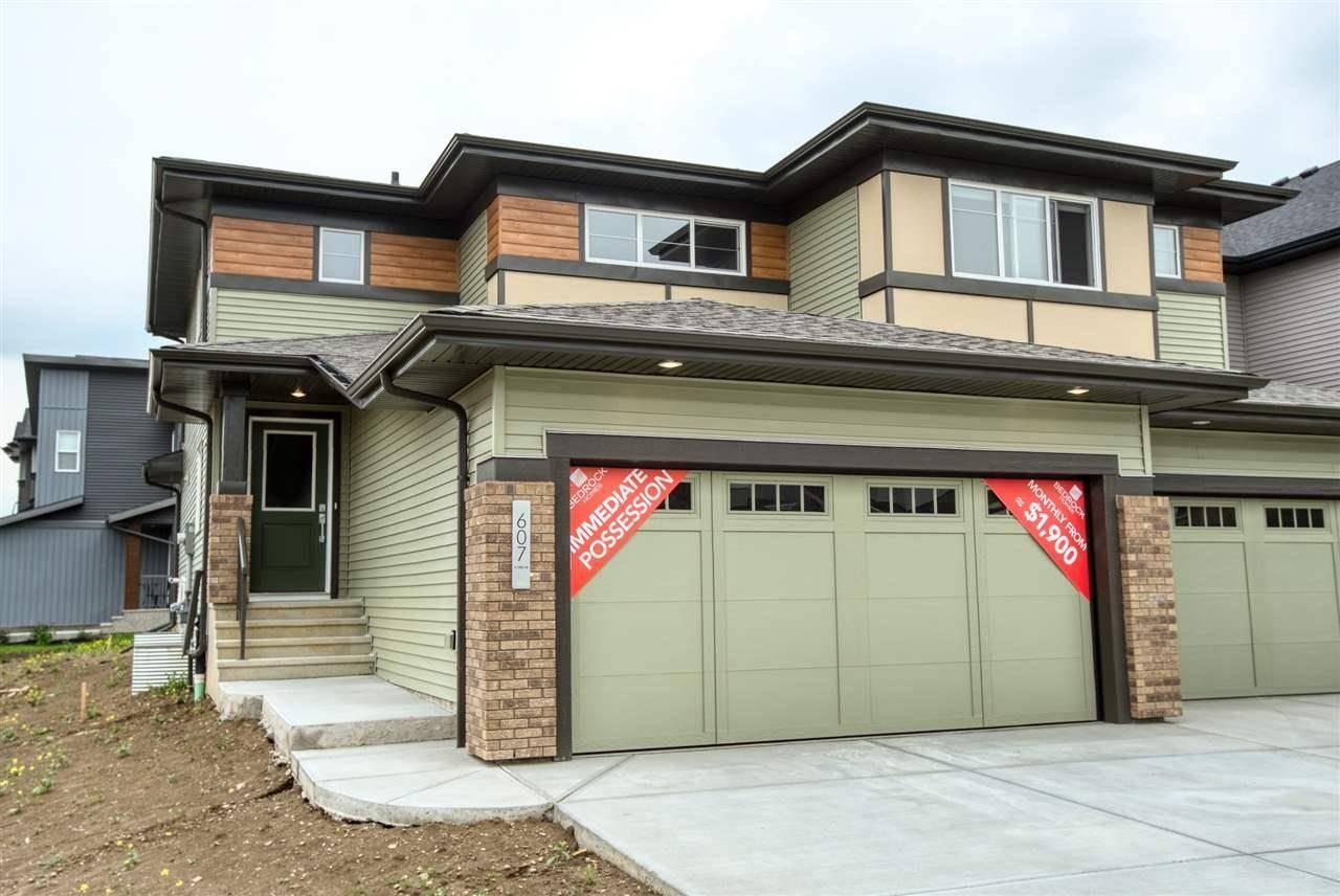 Townhouse for sale at 607 41 St Sw Edmonton Alberta - MLS: E4168887