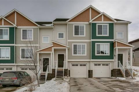 Townhouse for sale at 607 Panatella Blvd Northwest Calgary Alberta - MLS: C4232576