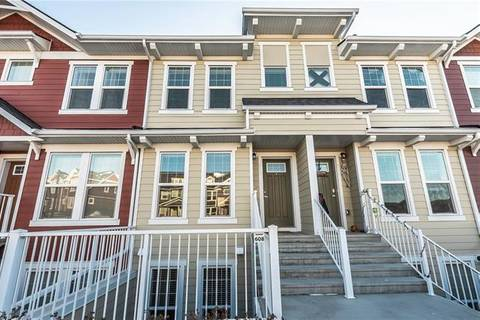 Townhouse for sale at 608 Cranford Me Southeast Calgary Alberta - MLS: C4274319