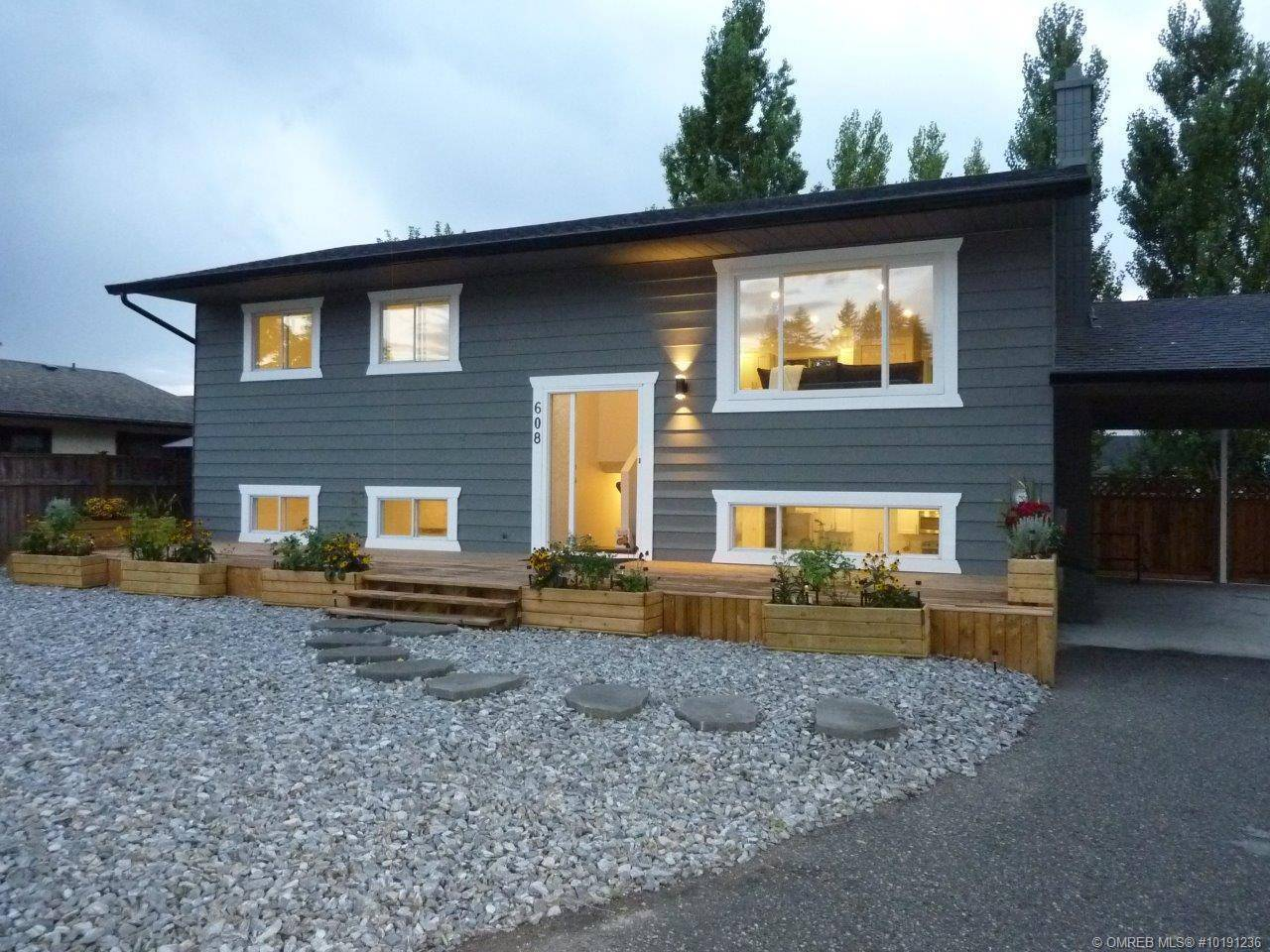 House for sale at 608 Josselyn Ct Kelowna British Columbia - MLS: 10191236