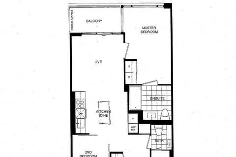 Apartment for rent at 27 Bathurst St Unit 608W Toronto Ontario - MLS: C4613436