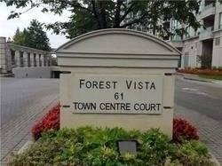 Apartment for rent at 61 Town Centre Ct Unit 609 Toronto Ontario - MLS: E4669785