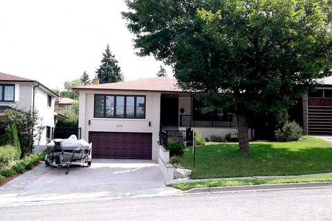House for sale at 609 Cummer Ave Toronto Ontario - MLS: C4514043