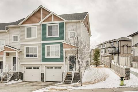 Townhouse for sale at 609 Panatella Blvd Northwest Calgary Alberta - MLS: C4292112