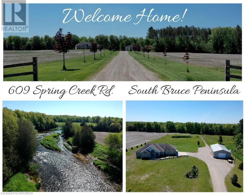 House for sale at 609 Spring Creek Rd South Bruce Peninsula Ontario - MLS: 247584