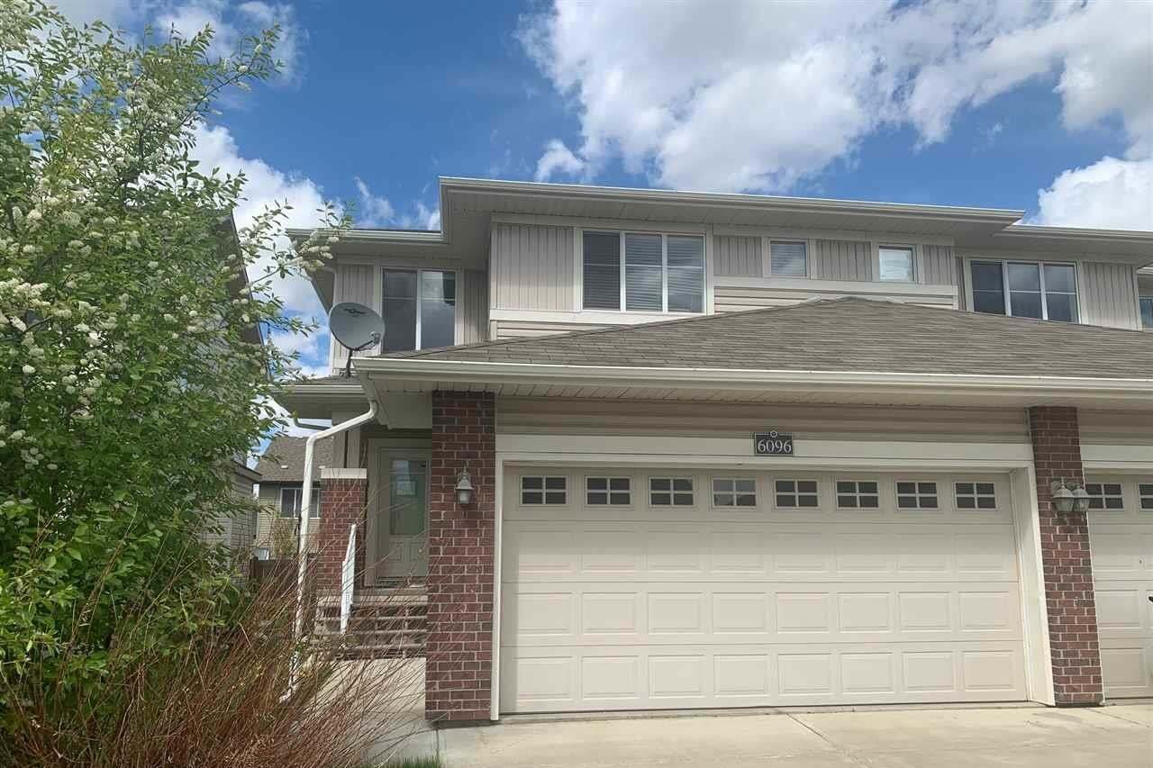 Townhouse for sale at 6096 Sunbrook Ld Sherwood Park Alberta - MLS: E4198781