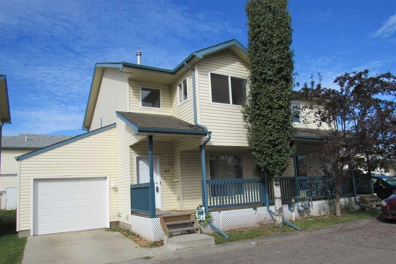 Townhouse for sale at 10909 106 St NW Unit 61 Edmonton Alberta - MLS: E4212244