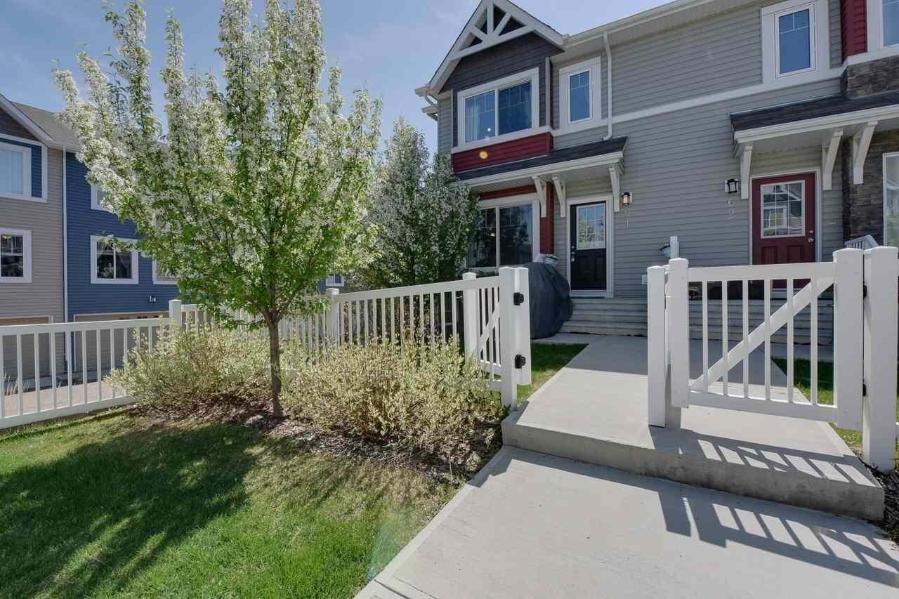 Townhouse for sale at 14621 121 St NW Unit 61 Edmonton Alberta - MLS: E4199398