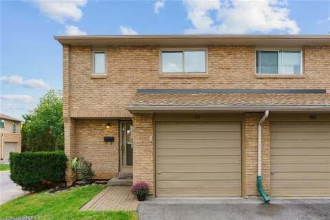 Townhouse for sale at 1552 Lancaster Dr Unit 61 Oakville Ontario - MLS: 40026587