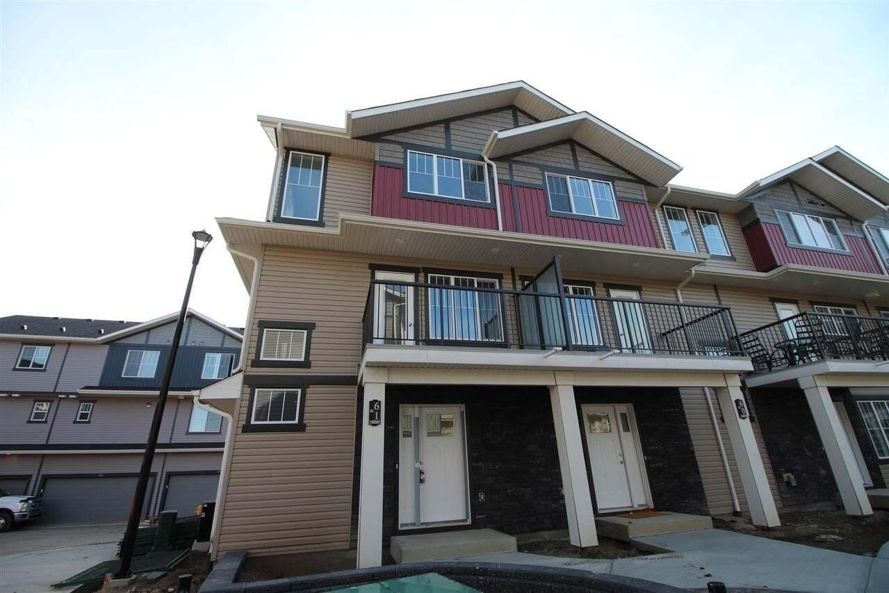 Townhouse for sale at 165 Cy Becker Bv NW Unit 61 Edmonton Alberta - MLS: E4189244