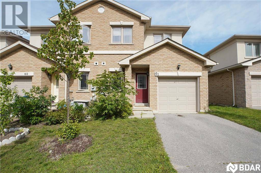 Townhouse for sale at 175 Stanley St Unit 61 Barrie Ontario - MLS: 30768113