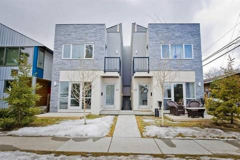 Townhouse for sale at 61 30 Ave Southwest Calgary Alberta - MLS: C4236153