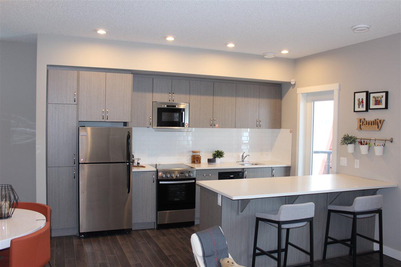 For Sale: 61 - 446 Allard Boulevard, Edmonton, AB | 2 Bed, 2 Bath Condo for $241,021. See 18 photos!