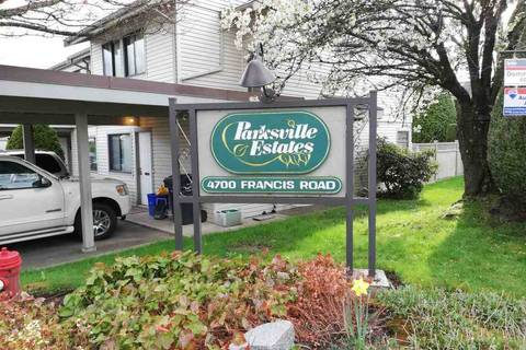 Townhouse for sale at 4700 Francis Rd Unit 61 Richmond British Columbia - MLS: R2361952