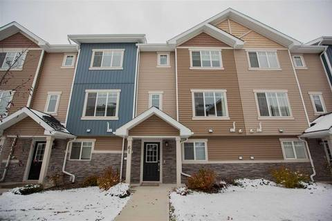 Townhouse for sale at 9535 217 St Nw Unit 61 Edmonton Alberta - MLS: E4139049