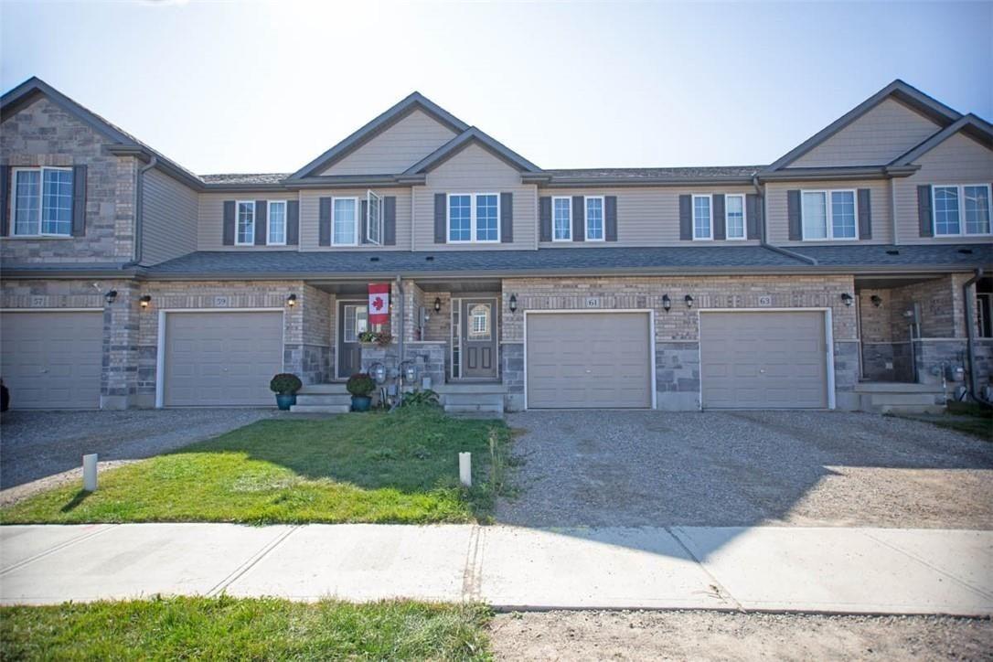 Townhouse for sale at 61 Arlington Pw Paris Ontario - MLS: H4089181