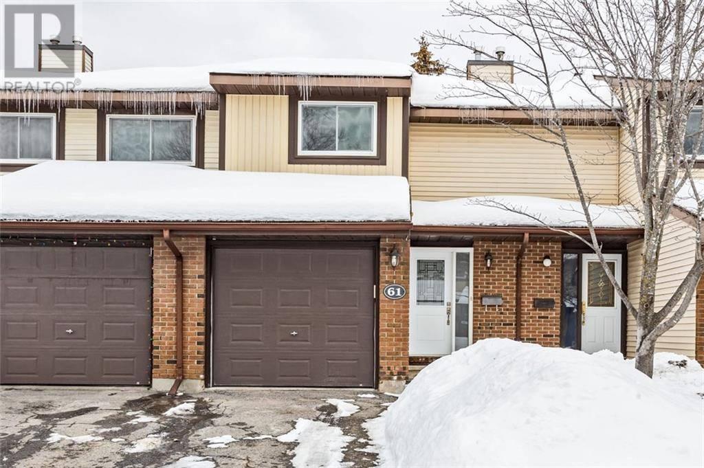 Townhouse for sale at 61 Baneberry Cres Kanata Ontario - MLS: 1182563
