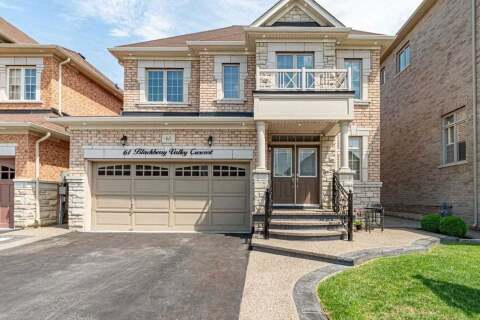 House for sale at 61 Blackberry Valley Cres Caledon Ontario - MLS: W4867765