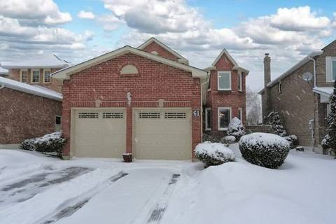 House for sale at 61 Bluebell Cres Whitby Ontario - MLS: E4374390