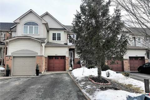 Townhouse for sale at 61 Breakwater Dr Whitby Ontario - MLS: E4439114
