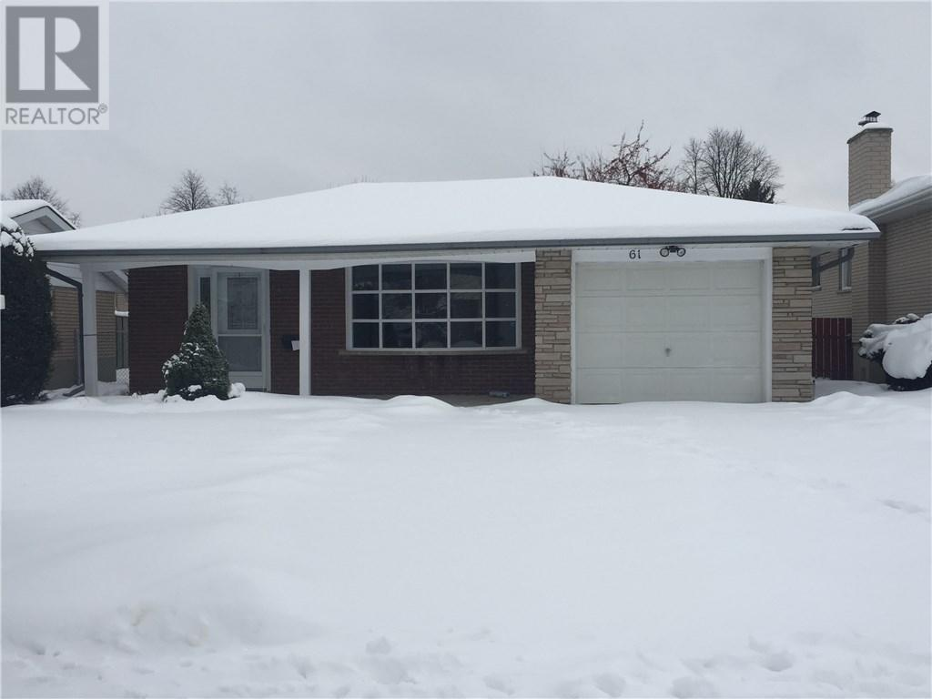 61 Carnaby Crescent, Kitchener | Sold? Ask us | Zolo.ca