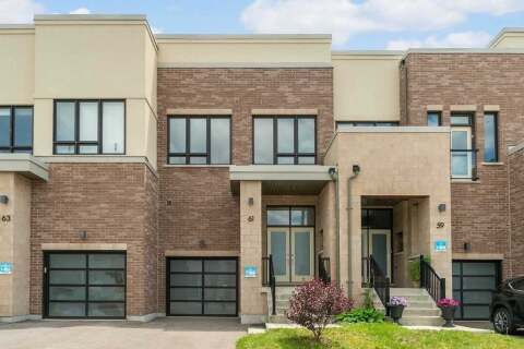Townhouse for sale at 61 Dariole Dr Richmond Hill Ontario - MLS: N4784200