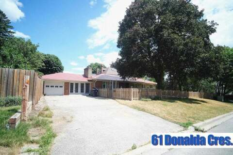 House for sale at 61 Donalda Cres Toronto Ontario - MLS: E4844156