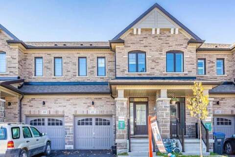 Townhouse for sale at 61 Doris Pawley Cres Caledon Ontario - MLS: W4954871