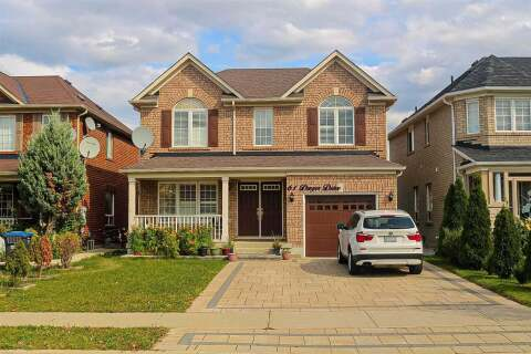 House for rent at 61 Dwyer Dr Brampton Ontario - MLS: W4944970
