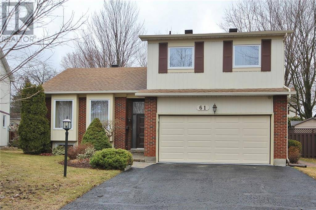 House for sale at 61 Foxleigh Cres Ottawa Ontario - MLS: 1179596