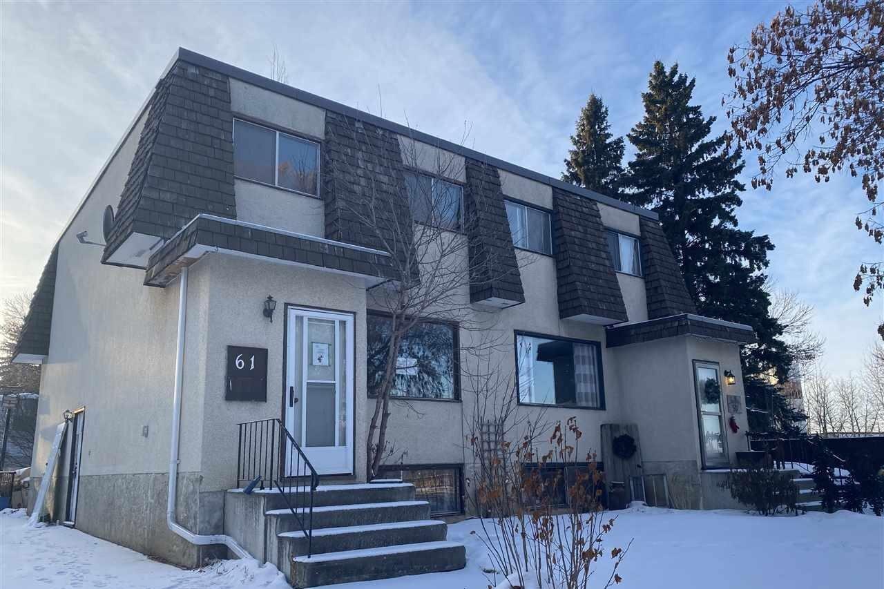 Townhouse for sale at 61 Glenhaven Cr St. Albert Alberta - MLS: E4223215