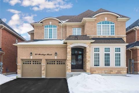 House for sale at 61 Heritage Rd Innisfil Ontario - MLS: N4711170
