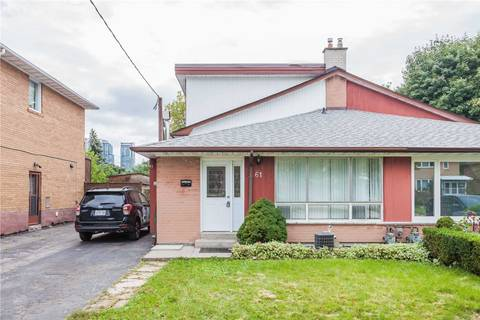 Townhouse for sale at 61 Holcolm Rd Toronto Ontario - MLS: C4479818
