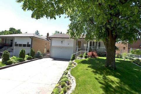 House for sale at 61 Hunting Rdge Toronto Ontario - MLS: W4728364