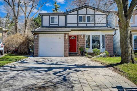 House for sale at 61 Lillooet Cres Richmond Hill Ontario - MLS: N4427305