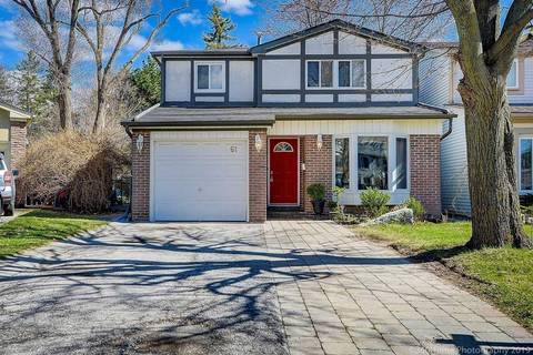 House for sale at 61 Lillooet Cres Richmond Hill Ontario - MLS: N4476900