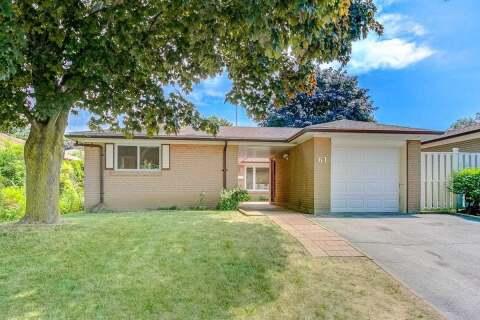 House for sale at 61 Merkley Sq Toronto Ontario - MLS: E4822856