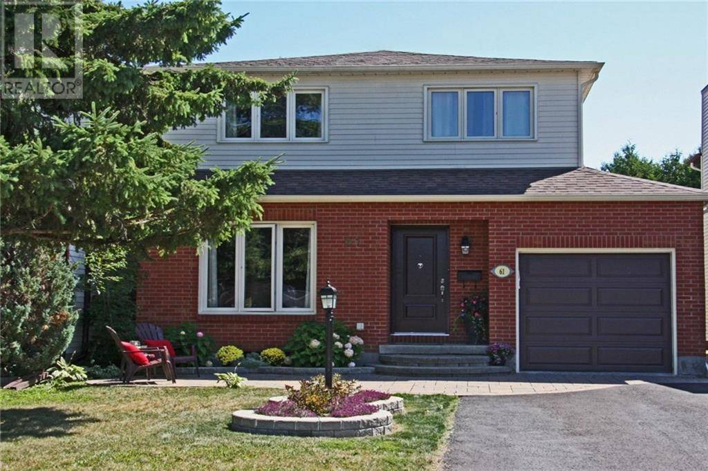House for sale at 61 Paula Cres Nepean Ontario - MLS: 1187109