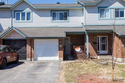 Townhouse for sale at 61 Piper Cres Ottawa Ontario - MLS: 1147591