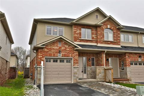 Townhouse for sale at 61 Redcedar Cres Hamilton Ontario - MLS: X4450044