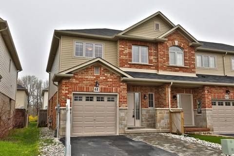 Townhouse for sale at 61 Redcedar Cres Stoney Creek Ontario - MLS: H4053445