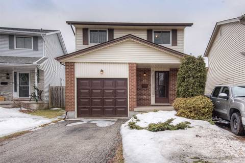 House for sale at 61 Ristau Cres Kitchener Ontario - MLS: X4390880