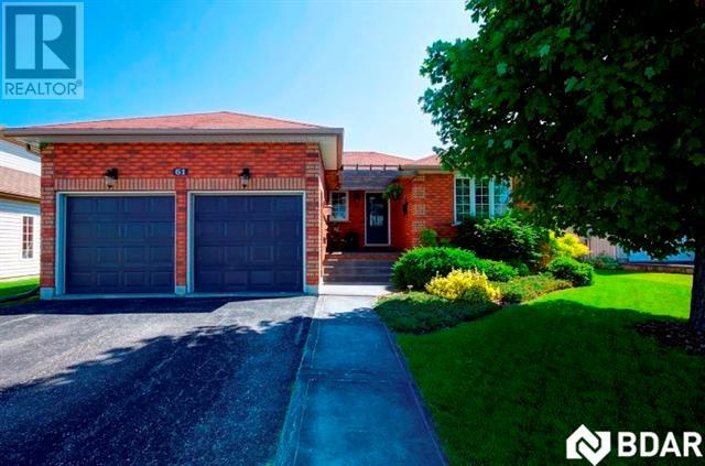 For Sale: 61 Ritchie Crescent, Springwater, ON | 3 Bed, 2 Bath House for $449,000. See 17 photos!