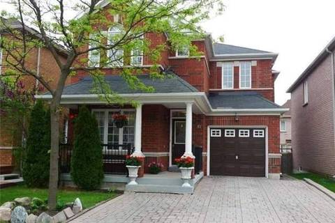 House for rent at 61 Saint Victor Dr Vaughan Ontario - MLS: N4652948