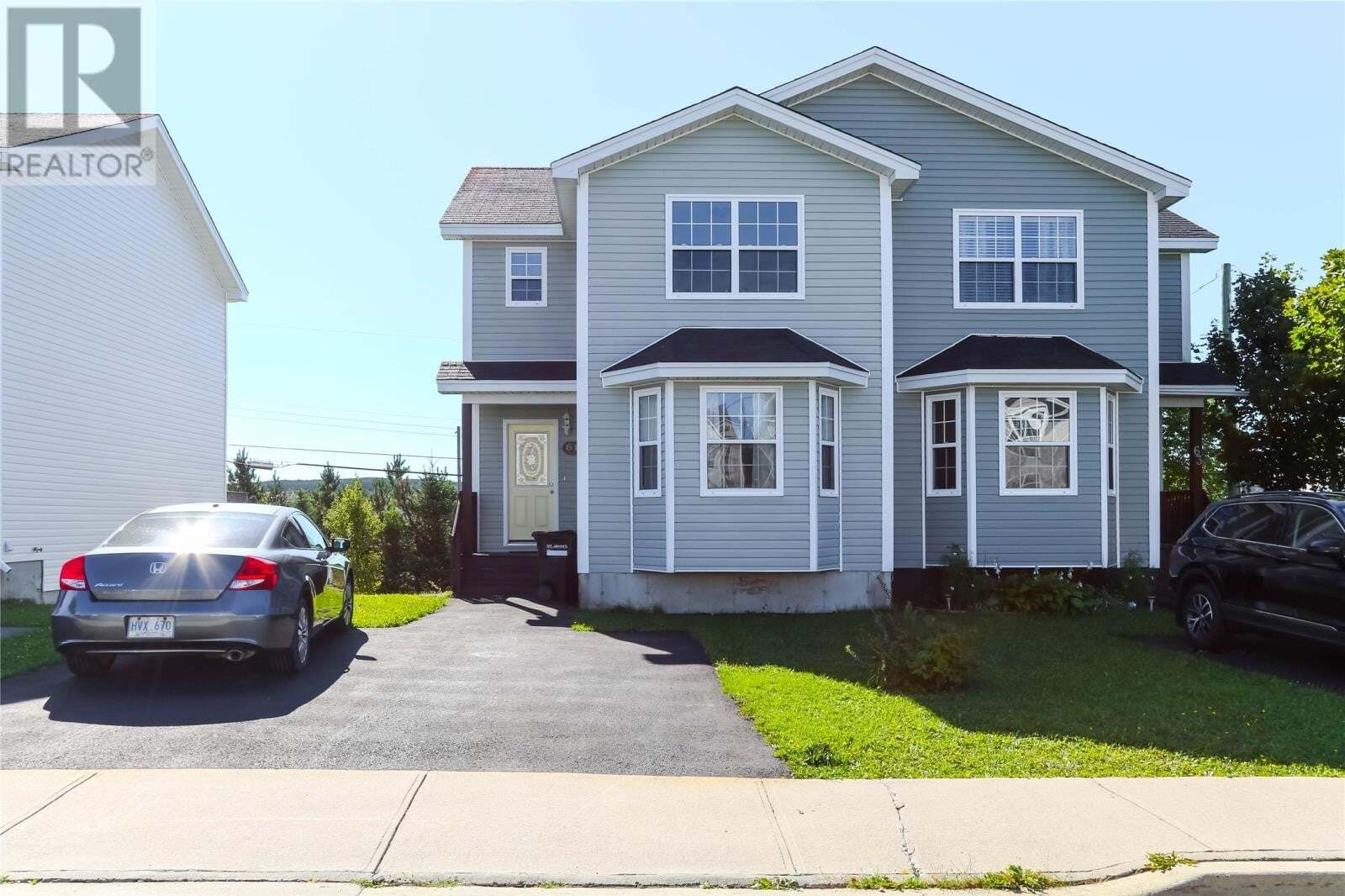 House for sale at 61 Seaborn St St John's Newfoundland - MLS: 1221461