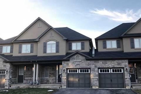 Townhouse for sale at 61 Sexton Cres Hamilton Ontario - MLS: X4391403