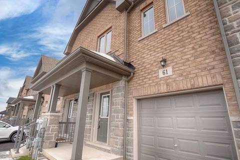 Townhouse for sale at 61 Sunset Wy Thorold Ontario - MLS: X4652500